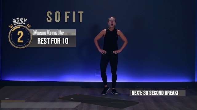 WOD S1 Ep 01 | 60 MIN | Ass and Abs with Jenny Kovacs | SoFit TV