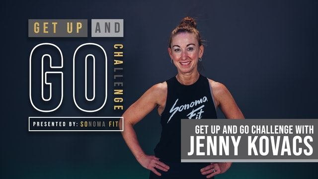 MONDAY GET UP AND GO! | Cardio Conditioning w Jenny: High Impact | Week 1 Day 2