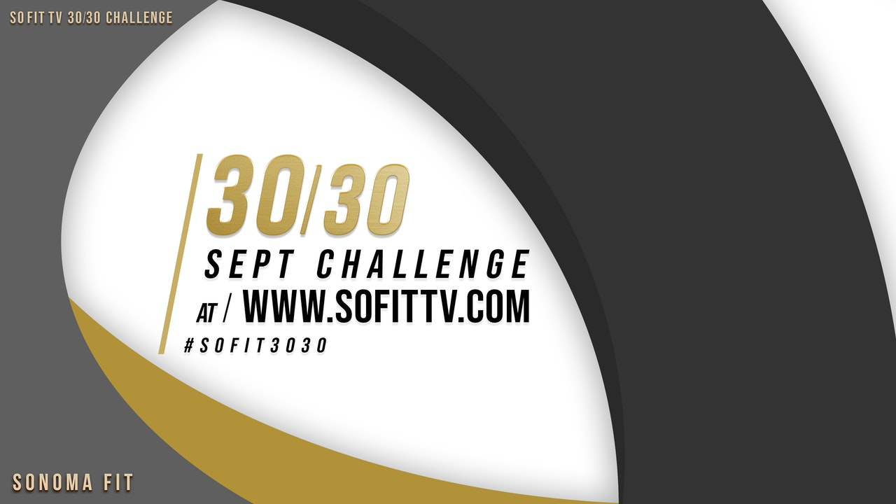 SoFit TV 30/30 Challenge - WIN FREE PRIZES!
