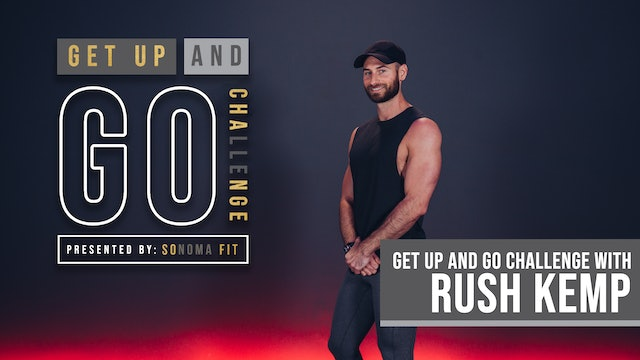 TUESDAY GET UP AND GO! | Butts & Guts with Rush Kemp  | WEEK 2 DAY 3