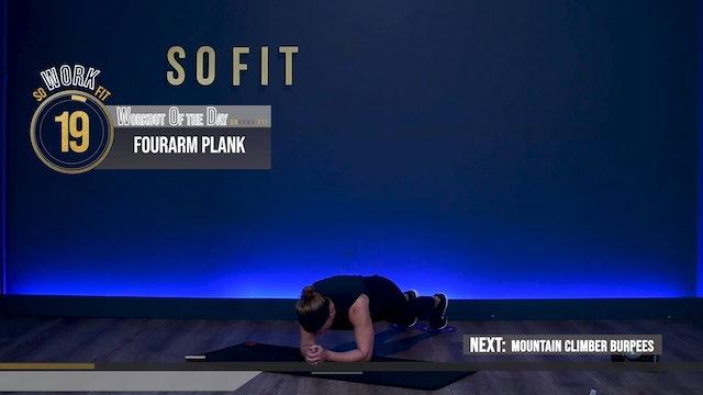 WOD S1 Ep 04 | 30 MIN | Core 30 with Jen Palter |  SoFit TV