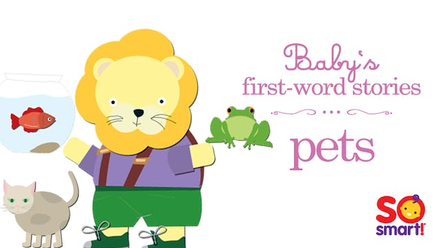 Baby's First Word Stories: Pets