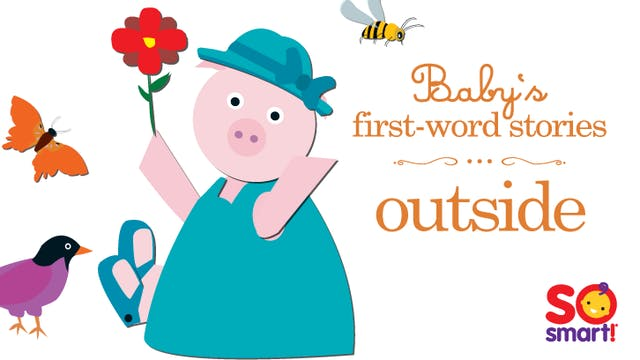 Baby's First Word Stories: Outside