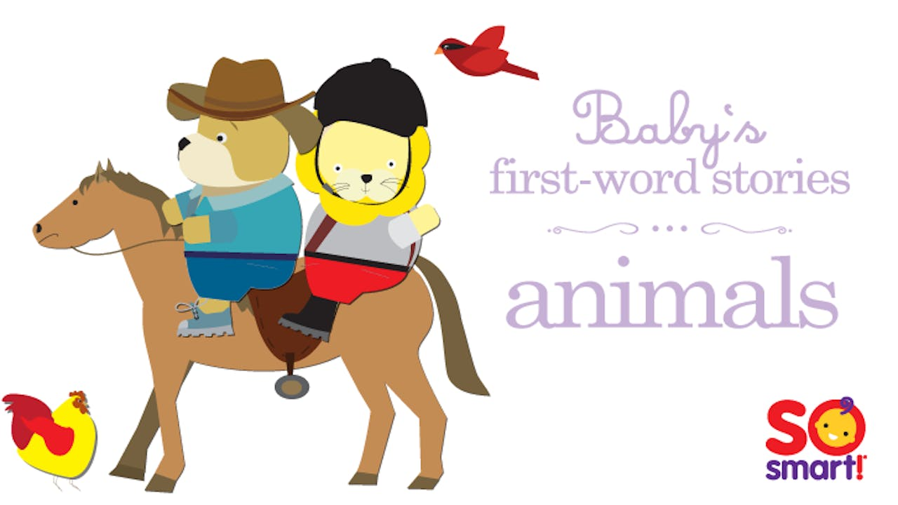 Baby's First Word Stories: Animals