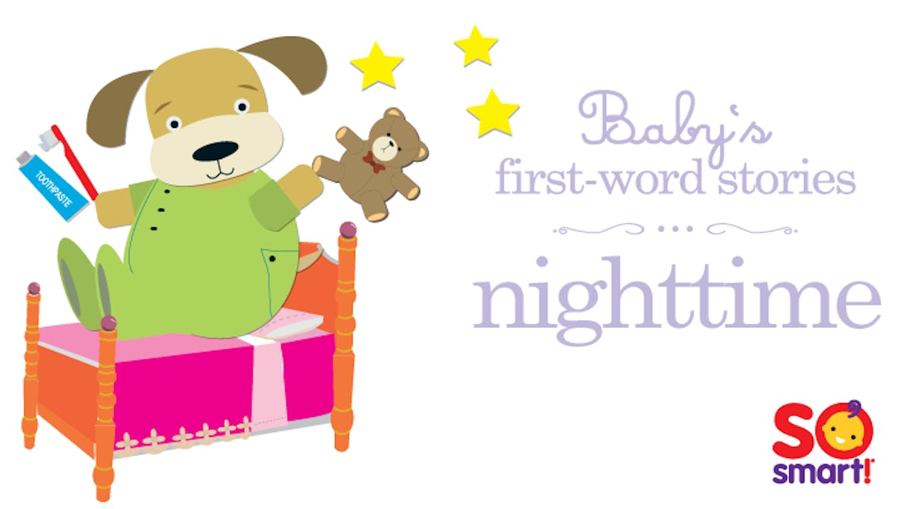 Baby's First Word Stories: Nighttime