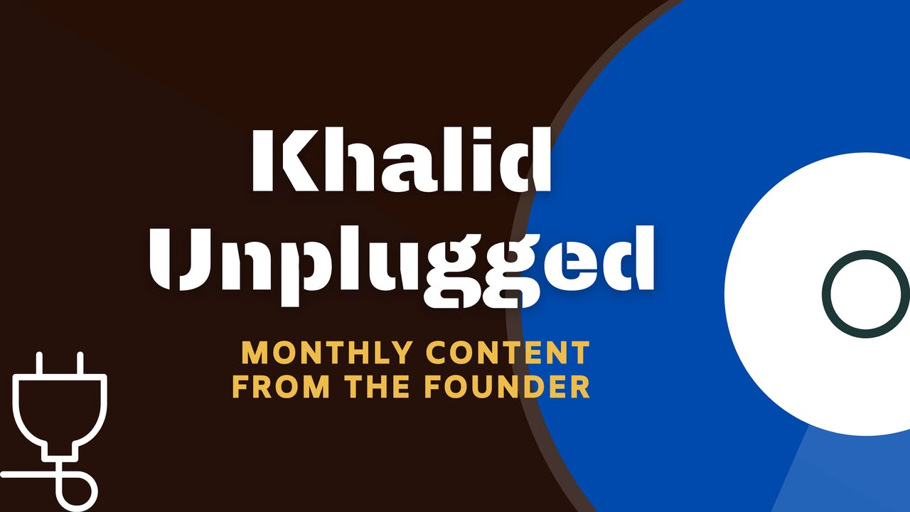 Khalid Unplugged