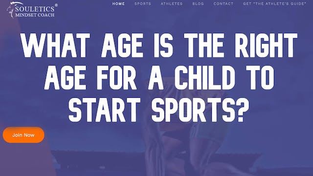 Sports Recruiting - What is the right...