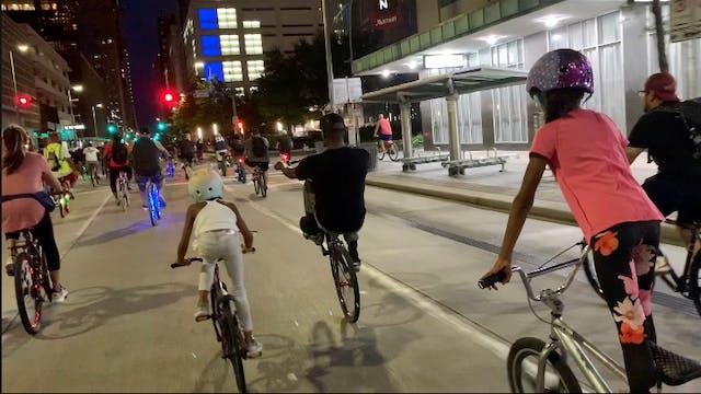 Clutch City Cruisers Night Ride Houston