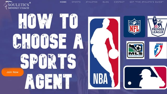 How To Choose A Sports Agent - Ep. 14