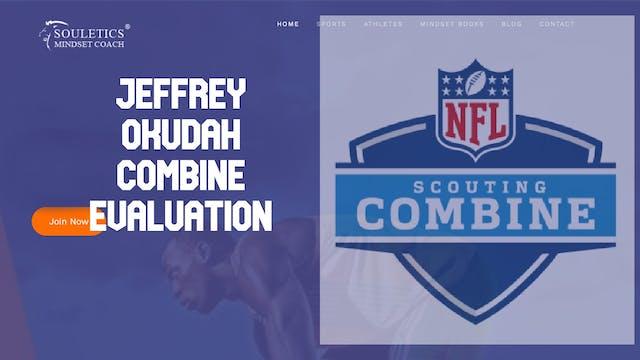 Jeffrey Okudah #1 Cornerback Combine ...