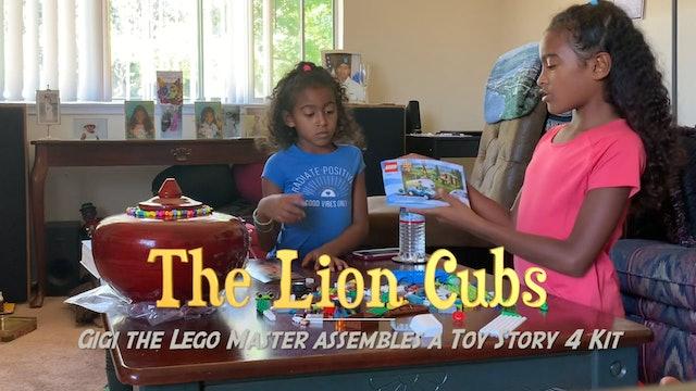 Gigi's Toy Story Lego Build