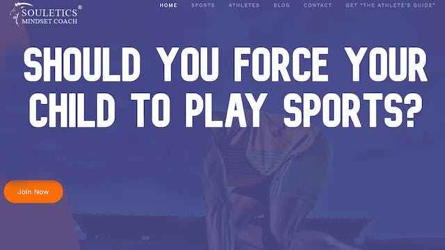 Sports Recruiting - Should you force ...