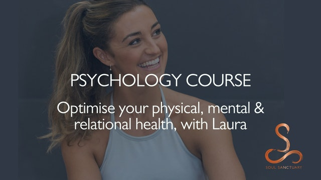 Optimise your physical, mental & relational health