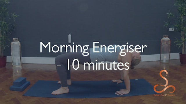 Morning Energiser with Charly Sidaway - 10 minutes
