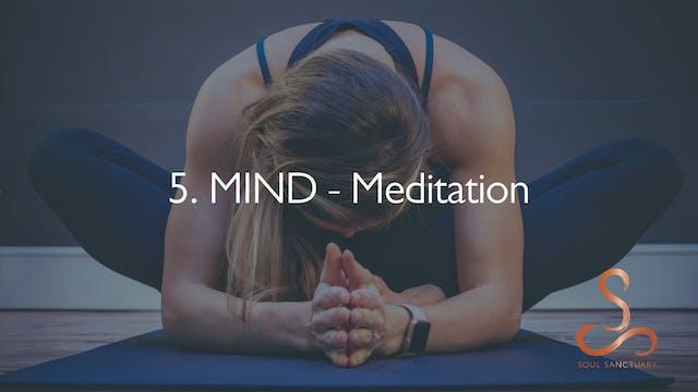 5. MIND - Meditation