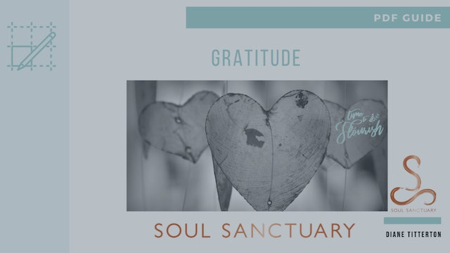 Lesson 4c - Worksheet: Guide to Starting a Gratitude Practice