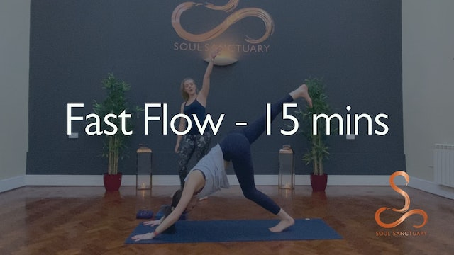 Fast Flow with Charly Sidaway - 15 minutes