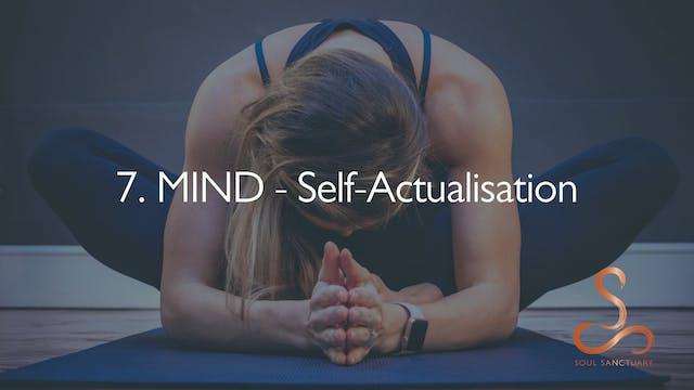 7. MIND - Self-Actualisation