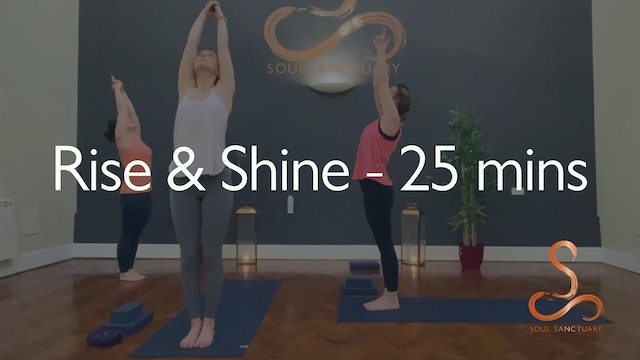 Rise & Shine with Sylvia Roberts - 25 minutes