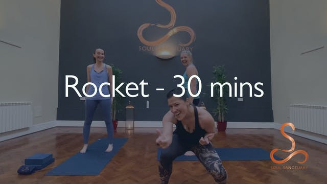 Rocket with Sylvia Robert - 30 minutes