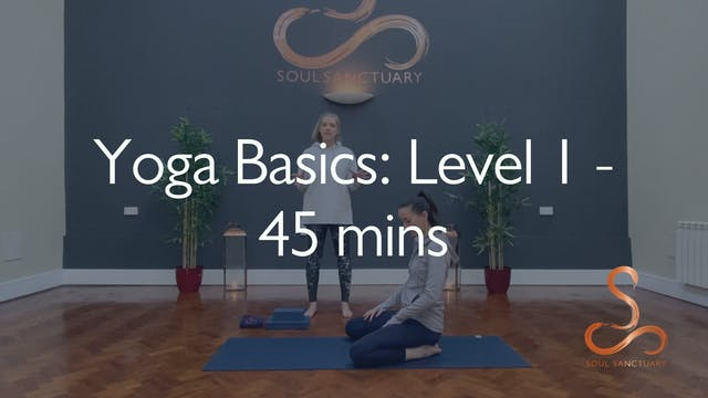 Yoga Basics Level 1 with Charly Sidaw...