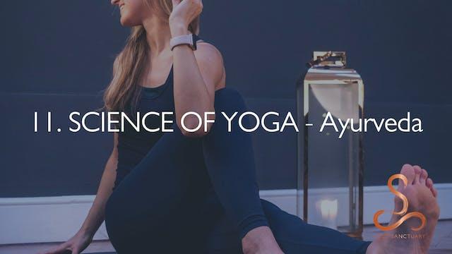 11. SCIENCE OF YOGA - Ayurveda