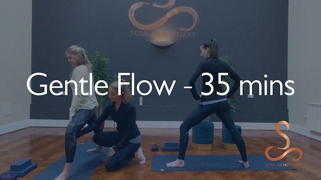 Gentle Flow with Laura Butcher - 35 minutes
