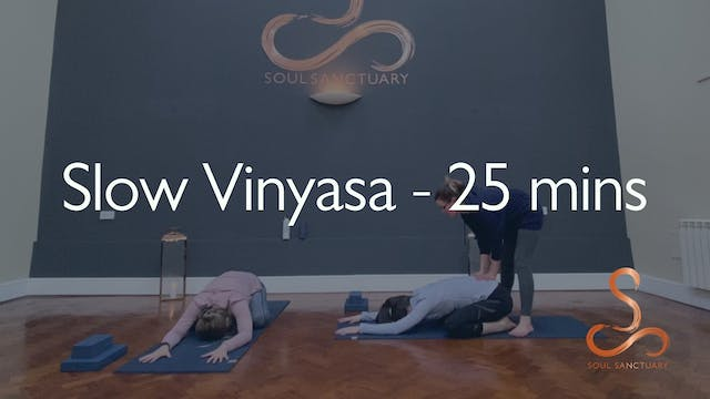 Slow Vinyasa with Polly Woodward - 25...
