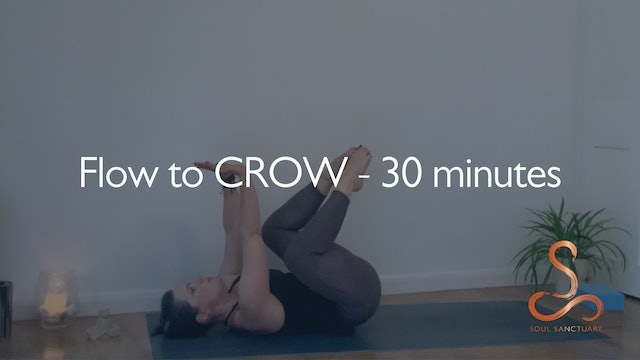 Flow to CROW with Sylvia Roberts - 30 minutes