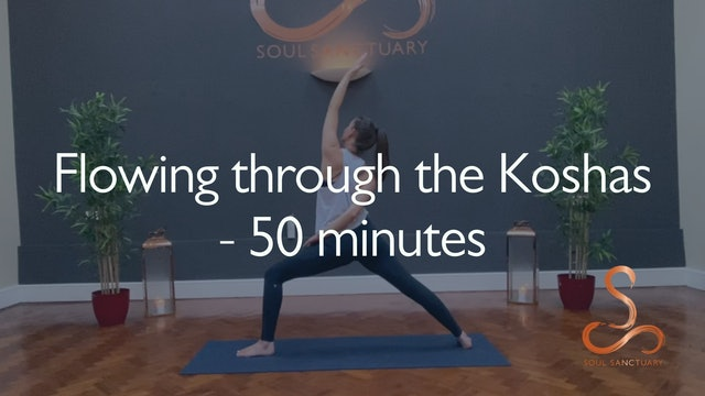 Flowing through the Koshas with Laura Butcher - 50 minutes