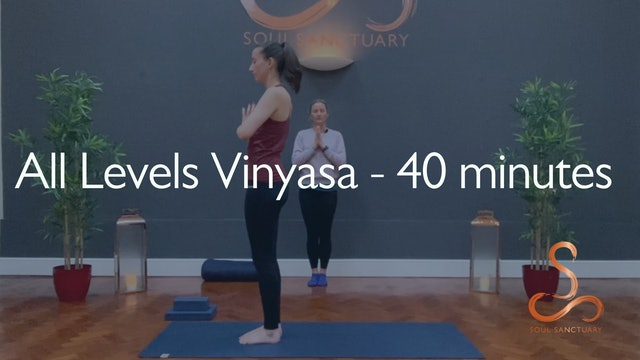 All Levels Vinyasa with Laura Wheeler - 40 minutes