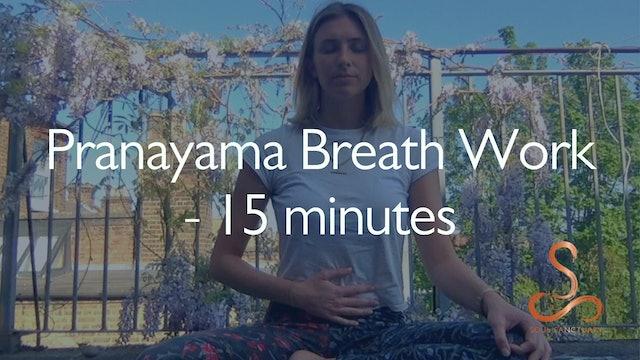 Pranayama Breathing with Poppy Doorbar - 15 minutes