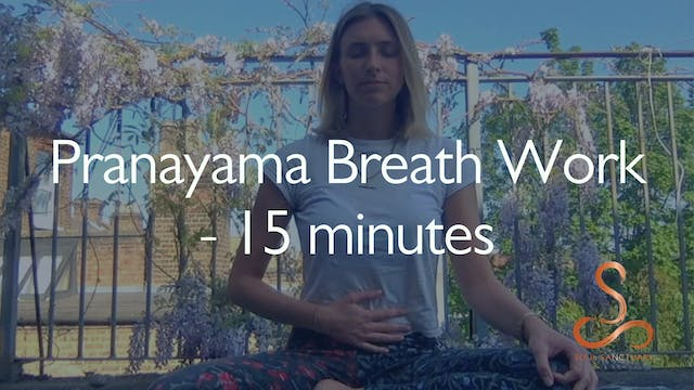 Pranayama Breathing with Poppy Doorbar - 15 minutes