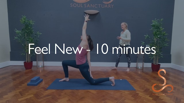 Feel New with Charly Sidaway - 10 minutes