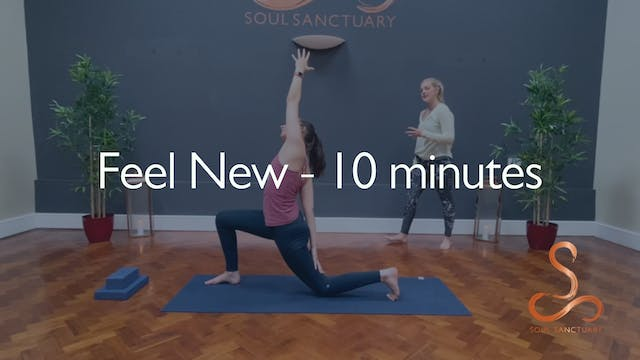 Feel New with Charly Sidaway - 10 min...