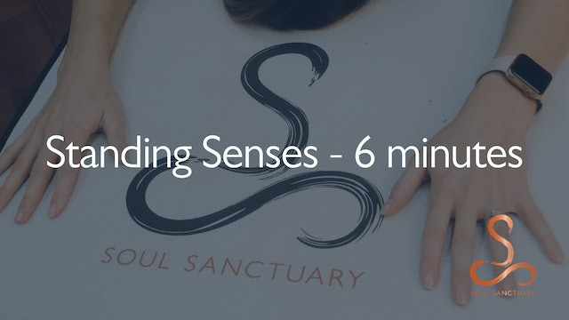 Senses Meditation with Diane Titterton - 6 minutes