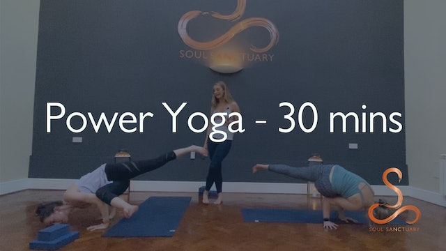 Power Vinyasa with Laura Butcher - 30 minutes