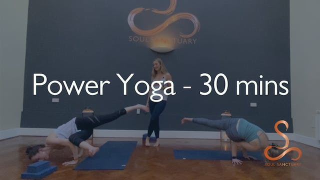 Power Vinyasa with Laura Butcher - 30...