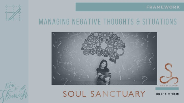Lesson 3d - Worksheet: Managing Negative Thoughts & Situations