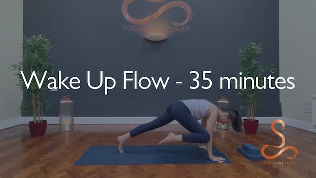 Wake Up Flow with Laura Wheeler - 35 ...