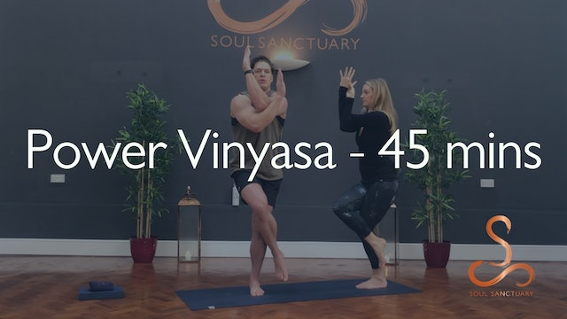Power Vinyasa with Laura Butcher - 45 minutes