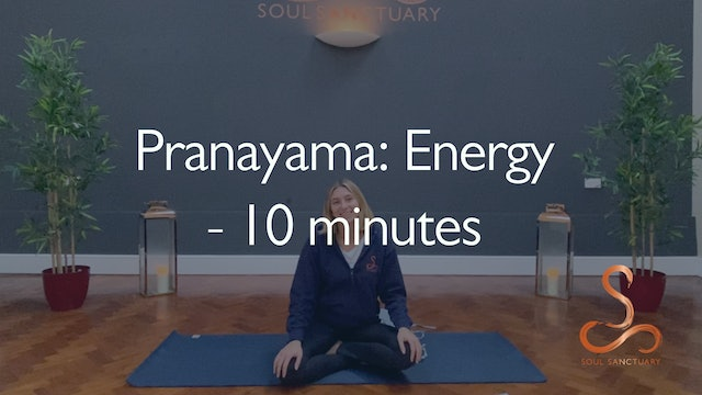 Pranayama: Increased Energy with Poppy Doorbar - 10 minutes