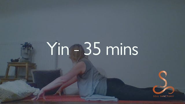 Yin with Becky Clissett - 35 minutes