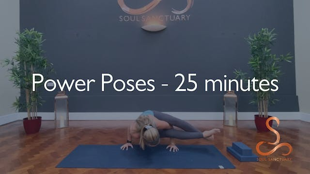 Power Poses with Laura Butcher - 25 m...