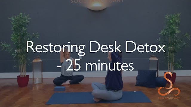 Restoring Desk Detox with Becky Cliss...
