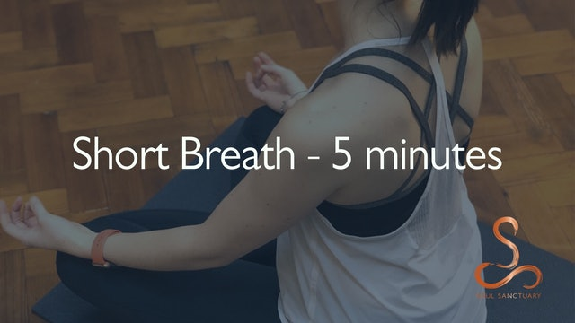 Short Breath Meditation with Diane Titterton - 5 minutes