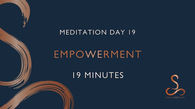 Meditation Day 19 - Empowerment with Charlotte Ellis