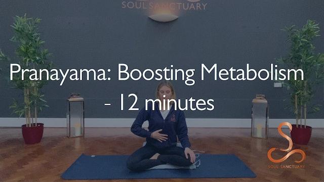 Pranayama: Boosting Metabolism with Poppy Doorbar - 12 minutes
