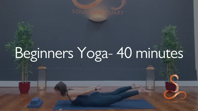 Beginners Yoga with Laura Butcher - 40 minutes