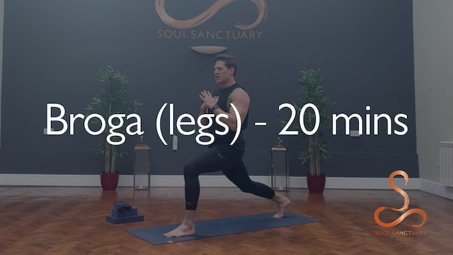 Broga (legs) with Adam Clayton - 20 minutes